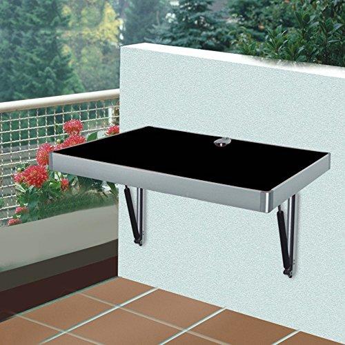 FEI Grande taille feuille-feuille fixée au mur de Tableau, table pliante de cuisine dinant la table des enfants (Couleur : Noir, taille : L100cm*W60CM*)