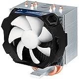 ARCTIC Freezer 12 - Semi-passiver CPU Luftkühler, Prozessorlüfter für Intel 1151, 1150, 1155, 1156, 2011-v3 und AMD AM4 Sockel bis 150 Watt Kühlleistung, Cooler mit 92 mm PWM Lüfter - Leise und Effizient
