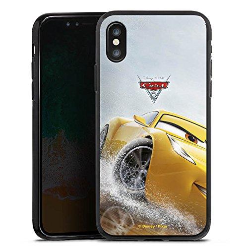 Apple iPhone 4 Silikon Hülle Case Schutzhülle Cruz Ramirez Disney Cars Cars 3 Silikon Case schwarz