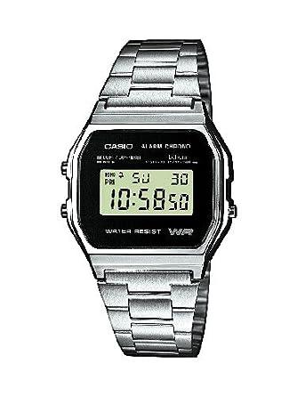 Armbanduhr zeichnung  Casio Herren-Armbanduhr Collection A158WEA-1EF: Amazon.de: Uhren