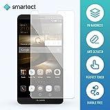 1x Protection d'Écran en Verre Trempé pour Huawei Ascend Mate 7 de smartect® | Film Protecteur Ultra-Fin de 0,3mm | Vitre Robuste avec 9H de Dureté et Revêtement Anti-Traces de Doigts