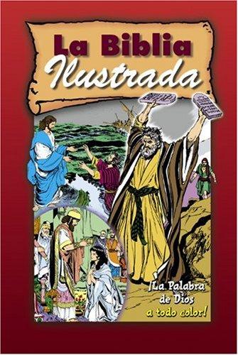 BIBLIA ILUSTRADA (CARTONE ROJA) (COMIC) (SOCIEDAD BIBLICA) (Picture Bible)