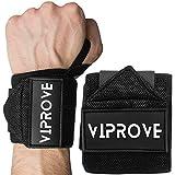 ViProve Handgelenk Bandagen für Gewichtheben 45cm Handgelenkbandagen für Bodybuilding, Krafttraining – für Männer und Frauen