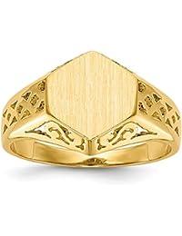 bb8c242c1f71 Amazon.es  anillos hombre oro - Oro amarillo   Hombre  Joyería