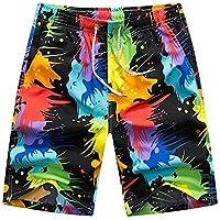 Westtreg Pareja de trajes de baño para mujer para hombre de poliéster pantalones cortos de natación deportes de gimnasia corriendo pantalones cortos de surf playa hombre mujer traje de baño de secado rápido, M