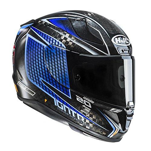 R1JSCUM - HJC RPHA 11 Carbon Jackson Storm Disney Pixar Motorcycle Helmet M Black (MC2)