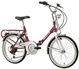 PAPILIOSHOP Bici pieghevole cicli Cinzia made in Italy bicicletta...