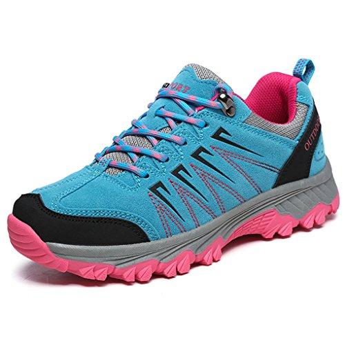 Unisex Uomo Donna Scarpe da trekking allaperto Resistente a scivolare resistenza allusura Scarpe sportive allaperto Blu