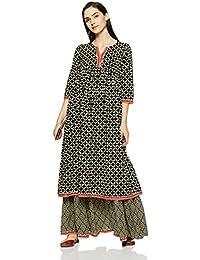 545bdd837 Amazon.in  Blacks - Salwar Suits   Ethnic Wear  Clothing   Accessories