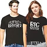 Best Little Brother - Hangout Hub 100% Cotton Brother Sister Tshirts Little Review