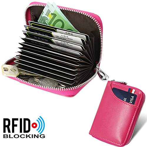 5151bcdabf1 Tarjetero para Tarjetas de Crédito para Hombre Mujer RFID Titular de la.