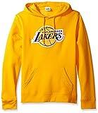 VF LSG NBA Herren Tek Patch Triple Peak Lange Ärmel Fleece Pullover Hoodie, herren, NBA Mens Tek Patch Long Sleeve Hooded Fleece Pullover, Goldgelb, XX-Large