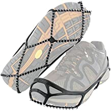 Yaktrax - Plantillas, Color Negro, Talla Medium