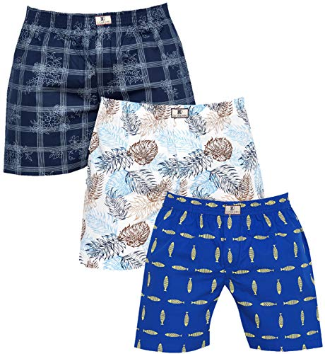 Global Rang Men's Cotton Boxer (Pack of 3)