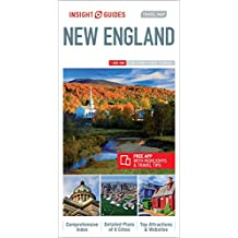 Insight Guides: Travel Maps New England (Insight Travel Maps)