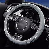Best Steering Wheel Covers - LOCEN Genuine Leather Car steering Wheel Cover Review