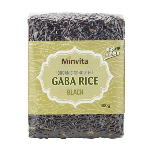 Minvita - Organic Sprouted Gaba Rice - Black - 500g