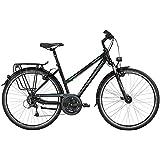 Bergamont–Bicicleta de trekking Sponsor Tour Mujer Negro/Gris/Verde 2016
