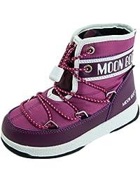 Moon Boot Scarpe Junior We JR Mid WP 34051200003 Fucsia a4270c6ff26