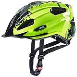 Uvex Quatro Junior Kinder Fahrrad Helm Gr. 50-55cm gelb/schwarz 2019