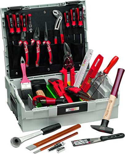 NWS 327-29 Sanitär Werkzeugkoffer Sortimo L-BOXX, 29-teilig, 35,5 x 35 x 14,5 cm