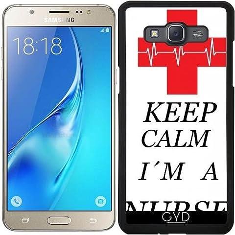 Coque pour Samsung Galaxy J5 2016 (SM-J510) - Infirmière Médecin