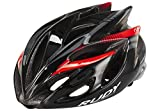 Rudy Project Rush Helmet Black-Red Fluo (Shiny) Kopfumfang 59-62 cm 2018 Fahrradhelm