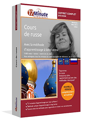 Cours de russe : coffret complet (A1-C2). Logiciel pour Windows/Linux/Mac OS X. Apprendre le russe avec la méthode unique d'apprentissage à long terme