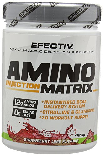 Efectiv Sports Nutrition 420 g Strawberry Lime Amino Injection Matrix