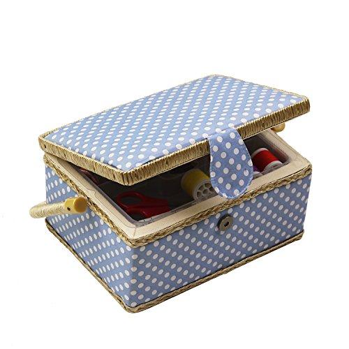 D & D de costura cesta organizador con accesorios