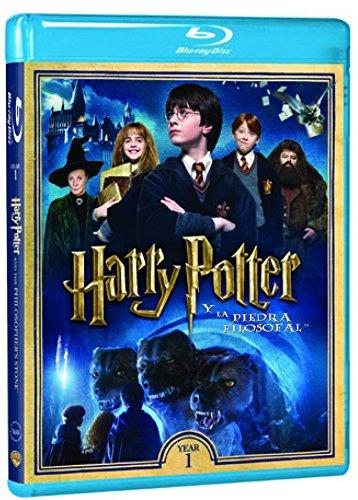 Harry Potter Y La Piedra Filosofal - Nueva Carátula [Blu-ray]