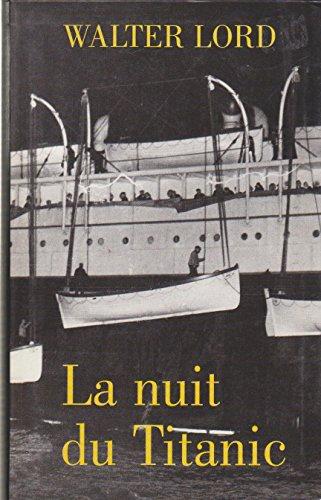 La nuit du Titanic. Roman traduit de l'anglais.