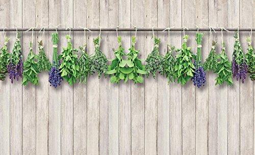tapete Tapete Wandbild Vlies | Welt-der-Träume| Kräuter | VEXXXL (416cm. x 254cm.) | Photo Wallpaper Mural 10059VEXXXL-AW | Natur Pflanzen Blume Blumen Kräuter Imitation (Pflanze Stand Für Kräuter)