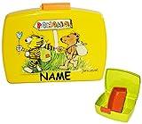 Unbekannt Lunchbox / Brotdose -  Janosch & die Tigerente - Tiger & Bär  Incl. Namen - ..