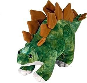 Wild Republic - Peluche Dinosauria Stegosaurus, 25 cm (15489)
