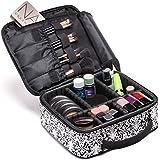 Cosmetic Travel Bag - Make Up Bags For Women - Makeup Travel Organizer - Big Makeup Bag - Large Makeup Case With...