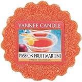 Yankee Candle Bougie parfumée Passion Fruit Martini Cire Tartelette, Orange