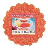 YANKEE CANDLE Passion Fruit Martini Tart da Fondere, Cera, Arancione, 5.9x5.7x2 cm
