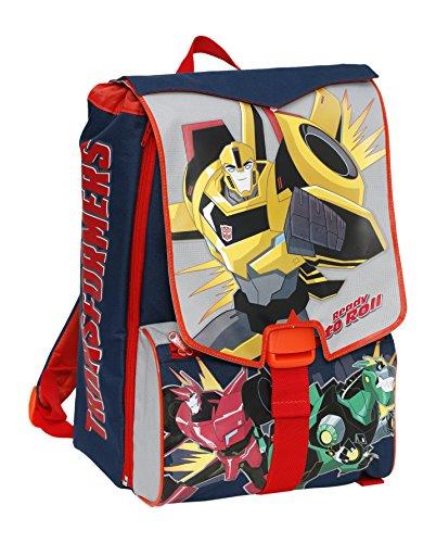 Giochi Preziosi - Transformers Zaino Scuola Estensibile, con Braccio Meccanico in Omaggio