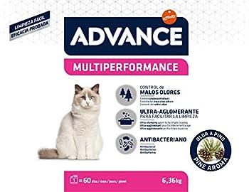 Advance Multiperformance Litière pour Chat 6,36 kg - Pack de 3