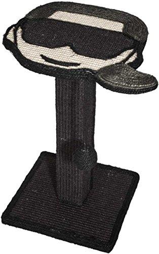Karl Lagerfeld Haustiere, Kratzbaum für Katzen, Scratching Post, Farbe: Schwarz, Größe: One Size