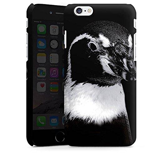 Apple iPhone X Silikon Hülle Case Schutzhülle Pinguin Vogel Schwarzweiß Premium Case matt