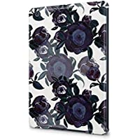 Flower Night Blue Rose Blossom Pattern Durable Hard Plastic Snap-On Plastic Tablet Case Cover For iPad Mini 1