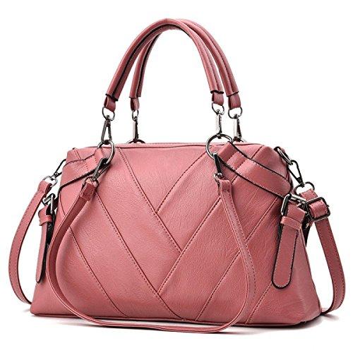 025a4fcf79459 Damen Handtasche Umhängetasche Einfache Air Handtasche Schultertasche Große  Kapazität Multifunktions-Handtasche Elegante Nähte