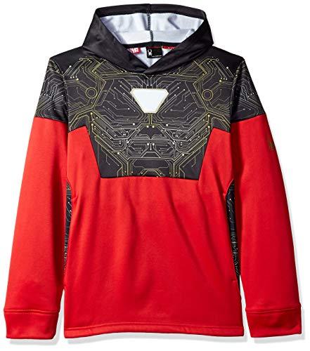 Spyder Active Sports Boy 's Marvel Riot Pullover Hoodie, Jungen, Red/Ironman, XL (Hoodie Man Iron Boys)