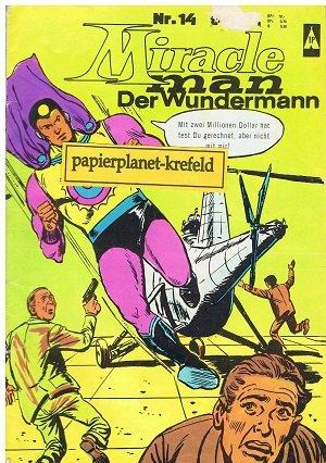 Miracleman Der Wundermann Nr. 14 (= Superhombre), 1967, BSV Comics Comic-Heft