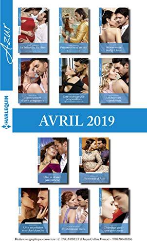 11 romans Azur + 1 gratuit (n°4070 à 4080 - Avril 2019) (French ...
