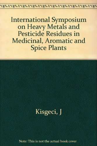 International Symposium on Heavy Metals and Pesticide Residues in Medicinal, Aromatic and Spice Plants