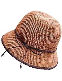 Sombrero Sombrero De Paja Sombrero De Playa Sombrero Hecho A Mano Sombrero  para El Sol b823cc8cc6e5