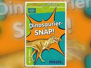 moses - Juego de Cartas Dinosaurios (versión en alemán)